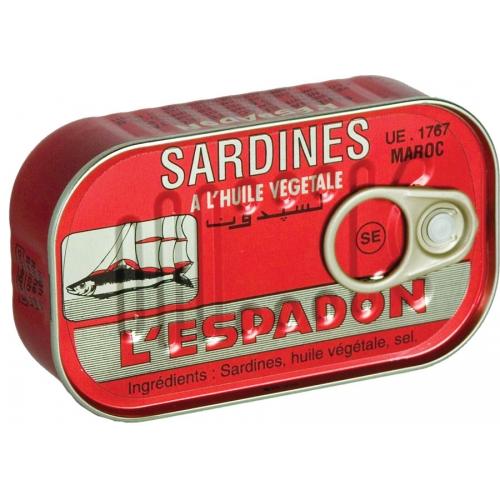 SARDINES ESPADON SPYCI 125GR
