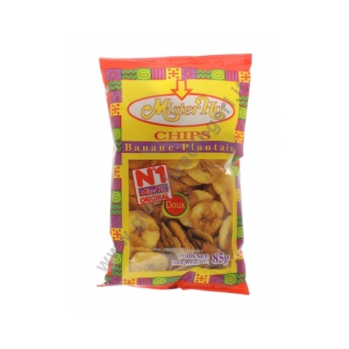 CHIPS PLT MR HO 16X85GR DOUX EQUATEUR